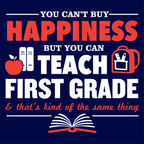 First Grade - Happiness Mousepad -  - 2