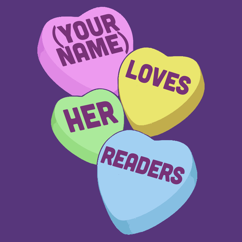 Librarian - Candy Hearts Readers -  - 15