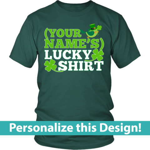 Teacher - Lucky Shirt -  - 1