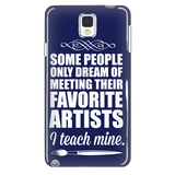 Art - I Teach Mine Case - Galaxy Note 4 - 3