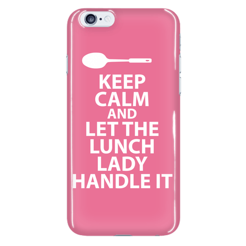 Lunch Lady - Keep Calm Case -  - 14
