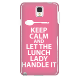 Lunch Lady - Keep Calm Case - Galaxy Note 4 - 3