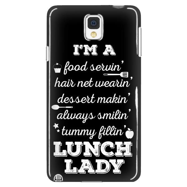 Lunch Lady - Poem Case - Galaxy Note 3 - 1