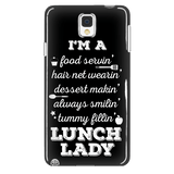 Lunch Lady - Poem Case - Galaxy Note 4 - 2