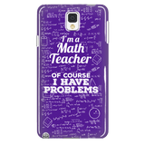 Math - Problems Case - Galaxy Note 4 - 2
