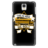 School Bus Driver - How We Roll Case - Galaxy Note 4 - 4