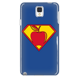 Teacher - Superman Case - Galaxy Note 4 - 4