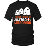 Librarian - Halloween GhostT-shirt - Keep It School - 6