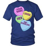Preschool - Candy HeartsT-shirt - Keep It School - 2