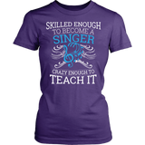 Chorus - Skilled Enough - District Made Womens Shirt / Purple / S - 11