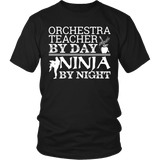 Orchestra - Teacher By Day - District Unisex Shirt / Black / S - 4