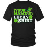 Teacher - Lucky Shirt - District Unisex Shirt / Black / S - 4