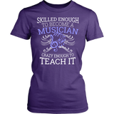 Orchestra - Skilled Enough - District Made Womens Shirt / Purple / S - 11