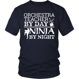 Orchestra - Teacher By Day - District Unisex Shirt / Navy / S - 3