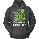 Lunch Lady - Don't Kiss Me - Hoodie / Charcoal / S - 8