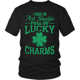 Art - Lucky Charms - District Unisex Shirt / Black / S - 4