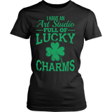 Art - Lucky Charms - District Made Womens Shirt / Black / S - 10