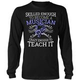 Orchestra - Skilled Enough - District Long Sleeve / Black / S - 1