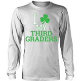 Third Grade - Clover - District Long Sleeve / White / S - 6