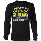 Secretary - Superpower - District Long Sleeve / Black / S - 8