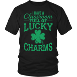 Teacher - Lucky Charms - District Unisex Shirt / Black / S - 4