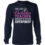 Orchestra - Superpower - District Long Sleeve / Navy / S - 6