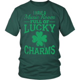 Music - Lucky Charms - District Unisex Shirt / Dark Green / S - 3