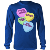 Preschool - Candy HeartsT-shirt - Keep It School - 6