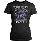 Orchestra - Skilled Enough - District Made Womens Shirt / Black / S - 10