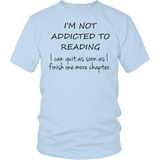 I'm not addicted to reading