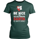 Vice Principal - Be Nice HolidayT-shirt - Keep It School - 11
