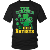 Art - St. Patrick's Artists - District Unisex Shirt / Black / S - 3