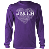 English - Heart - District Long Sleeve / Purple / S - 7