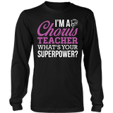 Chorus - Superpower - District Long Sleeve / Black / S - 8