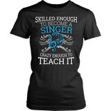 Chorus - Skilled Enough - District Made Womens Shirt / Black / S - 10
