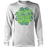 Teacher - Luckiest Ever - District Long Sleeve / White / S - 6