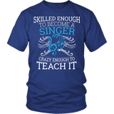 Chorus - Skilled Enough - District Unisex Shirt / Royal Blue / S - 2