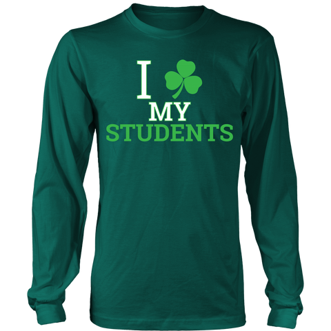 Teacher - Clover - District Long Sleeve / Dark Green / S - 1