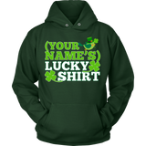 Teacher - Lucky Shirt - Hoodie / Dark Green / S - 9