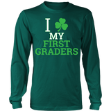 First Grade - Clover - District Long Sleeve / Dark Green / S - 1