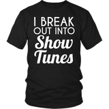 Theater - Show Tunes - District Unisex Shirt / Black / S - 5