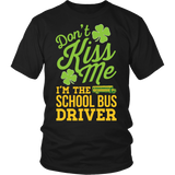 School Bus Driver - Don't Kiss Me - District Unisex Shirt / Black / S - 3
