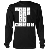 Science - Keep Calm - District Long Sleeve / Black / S - 7