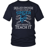 Chorus - Skilled Enough - District Unisex Shirt / Navy / S - 4