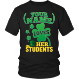 Teacher - St. Patrick's Day Students - District Unisex Shirt / Black / S - 5