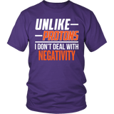 Science - Unlike Protons - District Unisex Shirt / Purple / S - 4