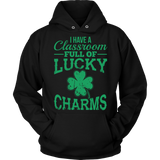 Teacher - Lucky Charms - Hoodie / Black / S - 8