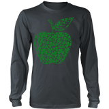 Teacher - Apple Clovers - District Long Sleeve / Charcoal / S - 7
