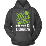 Librarian - Don't Kiss Me - Hoodie / Charcoal / S - 8