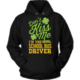 School Bus Driver - Don't Kiss Me - Hoodie / Black / S - 7